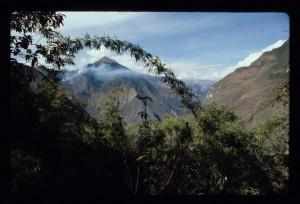 landscape near choquequirao, peru