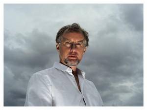 author in white shirt (c) Tomek Sierek 2013