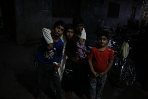 CCCC5889 boys in Lahore Old City lores