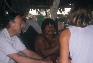 john with panara tribe, tesaya and translator - cropped